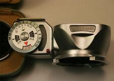 Rolleilux Hood & Light Meter 4x4 / Bayonet I Rolleiflex Super Clean