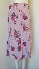 Gorgeous Pink Mix Rose Design Lined Skirt from Per Una M&S - Size 12 - BNWOT!