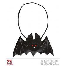 Ladies Black Vampire Bat Handbag Halloween Fancy Dress Costume Accessory