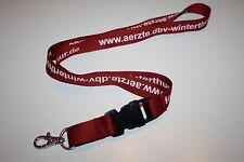 www.aerzte.dbv-winterthur.de DBV Winterthur Schlüsselband / Lanyard NEU!!