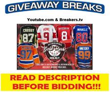 Minnesota Wild 2019-20 Gold Rush Auto Hockey Jersey Live Box Break #4