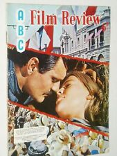 ABC FILM REVIEW ....(May 1966)....DOCTOR ZHIVAGO   cover..Sharif & Christie