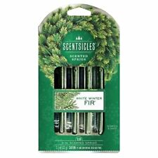 12 x Christmas Tree Smell Scented Stick Home Frangrance White Winter Fir