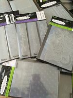 "Darice Embossing Folders 4.25"" x 5.75"" **VARIOUS DESIGNS TO CHOOSE FROM** Set #2"