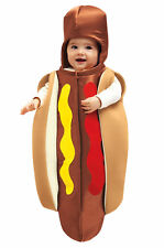 Hot Dog Bun Ting Halloween Costume Infant Boy Girl 0-6 months Chasing Fireflies