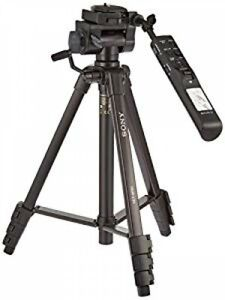 SONY VCT-VPR1 Compact Remote Control Tripod 3-stage 3WAY Aluminum fromJAPAN NEW