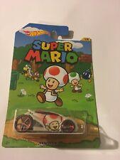 Super Mario Vandetta Hot Wheels Card Not Mint