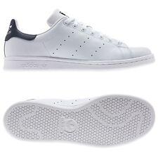 quality design 0417c 8bc81 Adidas Originali Stan Smith Scarpe da Ginnastica Uomo Bianco Nero Numeri UK  7 -