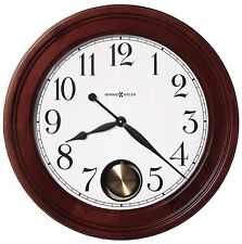 Howard Miller 625-314 (625314) Griffith Wall Clock- Windsor Cherry