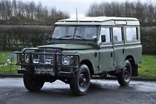 1979 (T) Land Rover Series 3 109 3.5 V8 Station Wagon