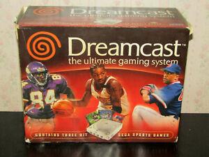 Official Sega Dreamcast Sports Bundle Version System Console Box Only