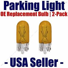 Parking Light Bulb 2-pack OE Replacement Fits Listed Infiniti Vehicles 2827