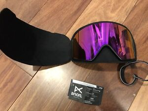 NEW Anon M4 Ski Snow Burton Sonar pink Zeiss Replacement Lens cylindrical