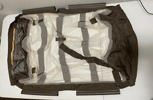 Graco Pack N Play Part Clip On Mesh BASSINET No Poles. Brown