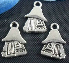 Free Ship 26Pcs Tibetan Silver (Lead-Free)Pretty cottage Charms Pendant 15x10mm