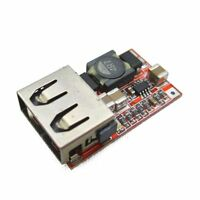 DC-DC Buck Step Down Module 6-24V 12V/24V to 5V 3A USB Charger Module Arduino