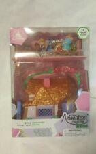 New Disney Animators' Littles Aurora Cottage Playset – Sleeping Beauty 10 Pcs