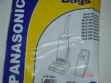 PANASONIC HOOVER BAGS UPRIGHT X5 U-2E U20E U20AB Electruepart BAG60