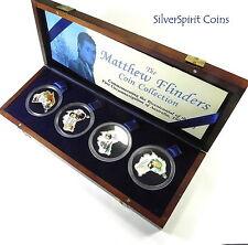 2002 MATTHEW FLINDERS BICENTENNIAL Silver Four 2oz  Coin Set