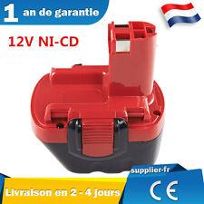 Batterie pour Bosch PSR 12VE-2,260733542,BAT043,BAT045,PSR 1200,PSR 12-2,PAG 12V