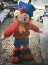 Ct25 - Knitting Pattern - Noddy - DK Knitted Children's Toy