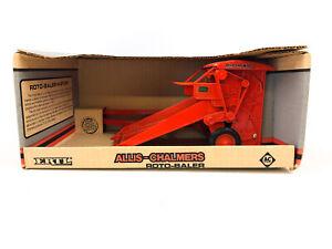 Allis Chalmers Roto Baler Deutz-Allis 1/16 Scale Diecast by ERTL - New in Box