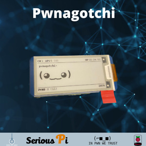 Pwnagotchi (WiFi Handshake Capturer)32GB SD Assembled and Ready to go! W BATTERY