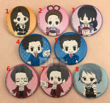T1032 Anime Phoenix Wright badges Pins Schoolbag Backpack Decorate A