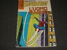 RACCOLTA SUPEREROI N.10 L'UOMO RAGNO - DICEMBRE 1978 CORNO - BUONO