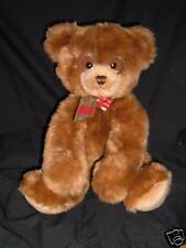 Gund BOOKER plush bear w glasses 44406 Brown Stuffed Animal Lovey Cute Face!