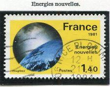 STAMP / TIMBRE FRANCE OBLITERE N° 2128 ENERGIES NOUVELLES