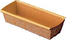 "Rectangular paper baking mold 9"" x 2-7/8"". Pack of 12"