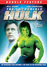 Dvd - The Incredible Hulk Returns & Trial of the Incredible Hulk Free Shipping
