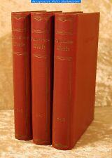 Hamerling - Hamerlings Werke in 10 Teilen in 3 Bd`n - Hesse& Becker 1922