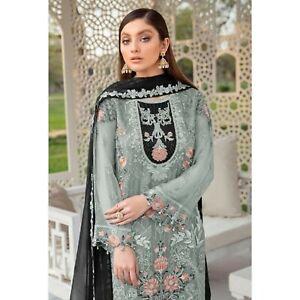 Pakistani Wedding Wear Trouser Pant Suits Indian Designer Shalwar Kameez Dresses