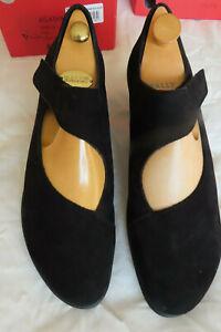 Worn once Arche Black Nubuck leather Suede Shoes - EU 41 / UK 8