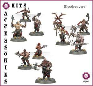 Bits Blades Of Khorne Bloodreavers Daemons Chaos WARHAMMER AOS 40K