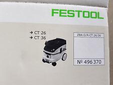 FESTOOL ZBA-D/R CT26/36 Zubehöraufbewahrung Düsen und Rohre - 496370