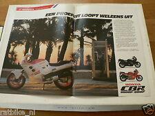 A240-HONDA CBR1000F CBR 1000 F ADD POSTER 1987 MOTORCYCLE BIKE MOTORRAD