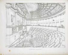 JOLY | Restauration de la Chambre des Députés | 1840 | EO In-plano | 35 planches