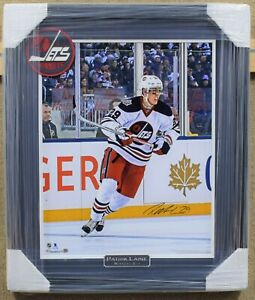 Patrik Laine Winnipeg Jets Signed and Framed Photo 22x26 - Fanatics Authentic