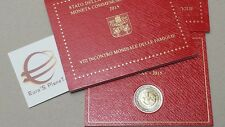 2 euro VATICAN 2015 Vaticano Vatikan 8 VIII Familles Philadelphia family familie