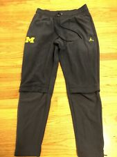 NWT Nike Jordan Jumpman Mens Michigan Wolverines Therma Fleece Pants Large $130