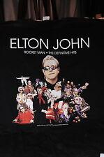 """""""Elton John 2009 Rocket Man Tour� T-Shirt – Music Tour Item (Xl)"""