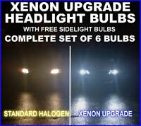 Xenon Upgrade headlight bulb kit Fiat Grand Punto H4H1