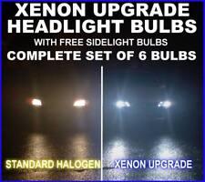 XENON Upgrade FARO LAMPADINA KIT FIAT GRAND PUNTO h4h1