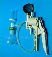 100ml Glass Filtration Set,Erlenmeyer Flask & Filter Funnel W/Vacuum pump