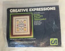 Creative Expressions Candlequilting Kit WELCOME FRIENDS #4145 Pineapple Craft