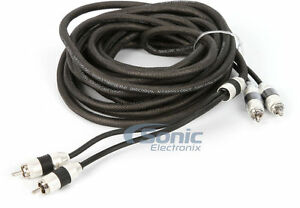 Stinger SI8220 20 Ft 2-Channel 8000 Audiophile Grade RCA Interconnect Cable