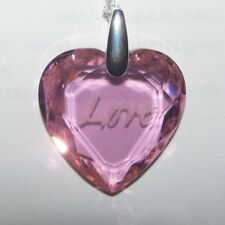 J 2320 OLD PAWN Sterling Silver Crystal Heart Necklace